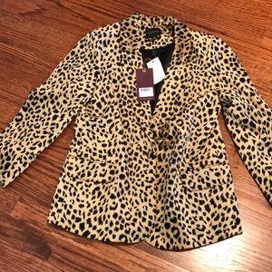 Scotch and soda leopard blazer